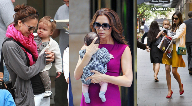 Super stylish celeb moms