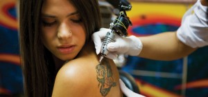 teen girl tattoo