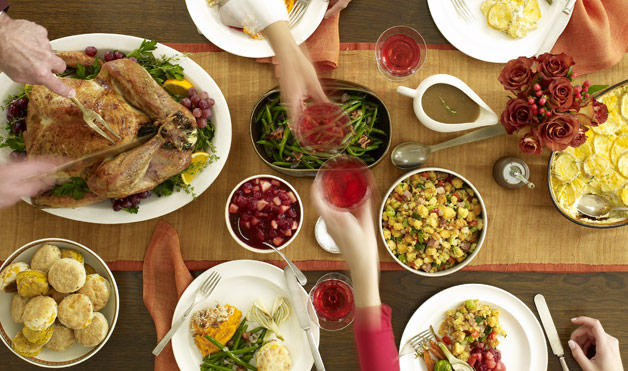 What Your Thanksgiving Plate Says About You