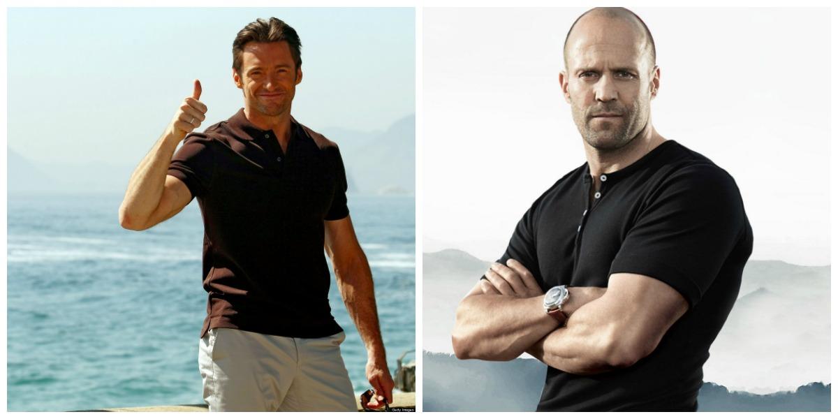 Hugh Jackman And Jason Statham: Wolverine Vs. Transporter Fashion