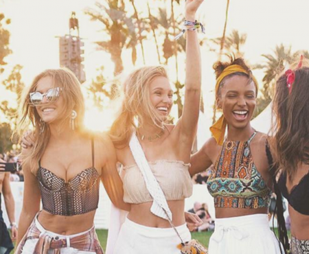 Coachella Guide: How Supermodels Do It!
