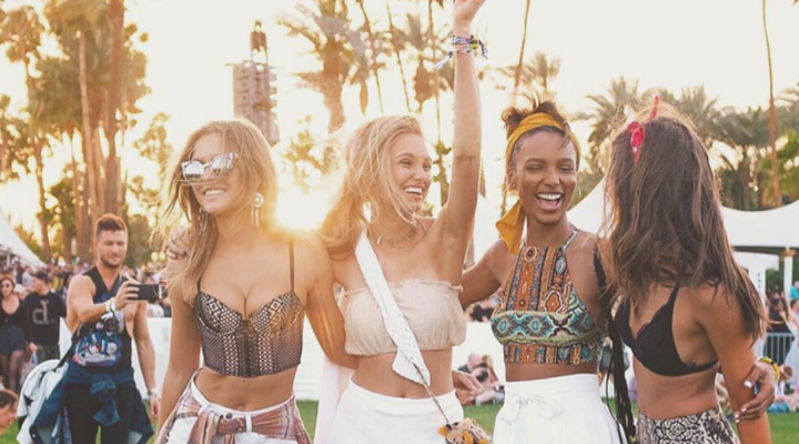 Coachella Guide: How Supermodels Do It!