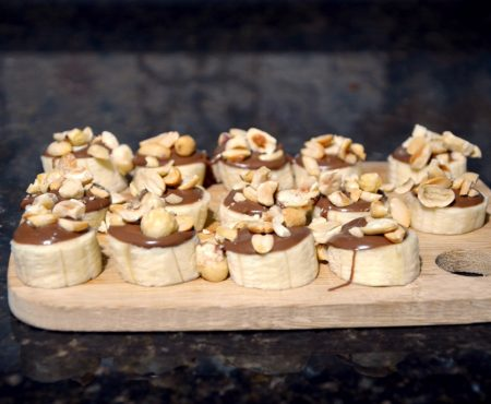 2 Minutes Homemade Snickers Bites