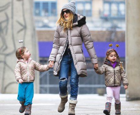 Celebrity Moms Doing Real Life