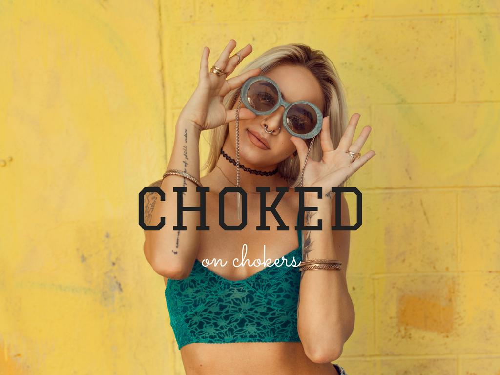 Choked on Chokers – Is the Trend Finally Over?