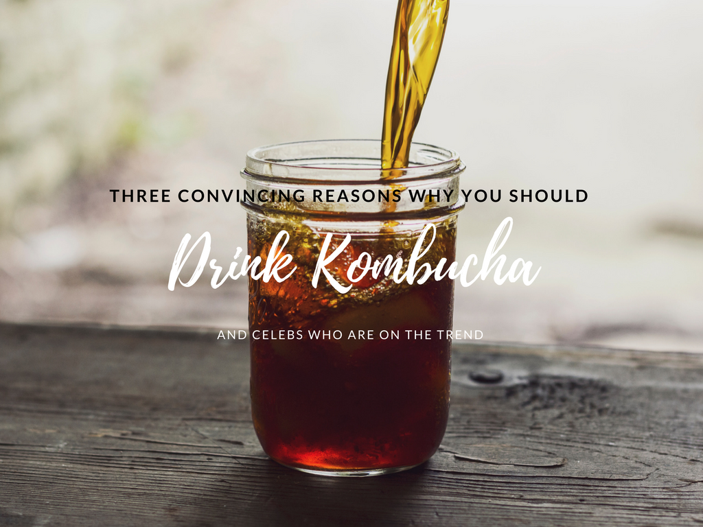 Three Convincing Reasons Why You Should Drink Kombucha