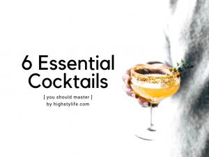 cocktails you should master