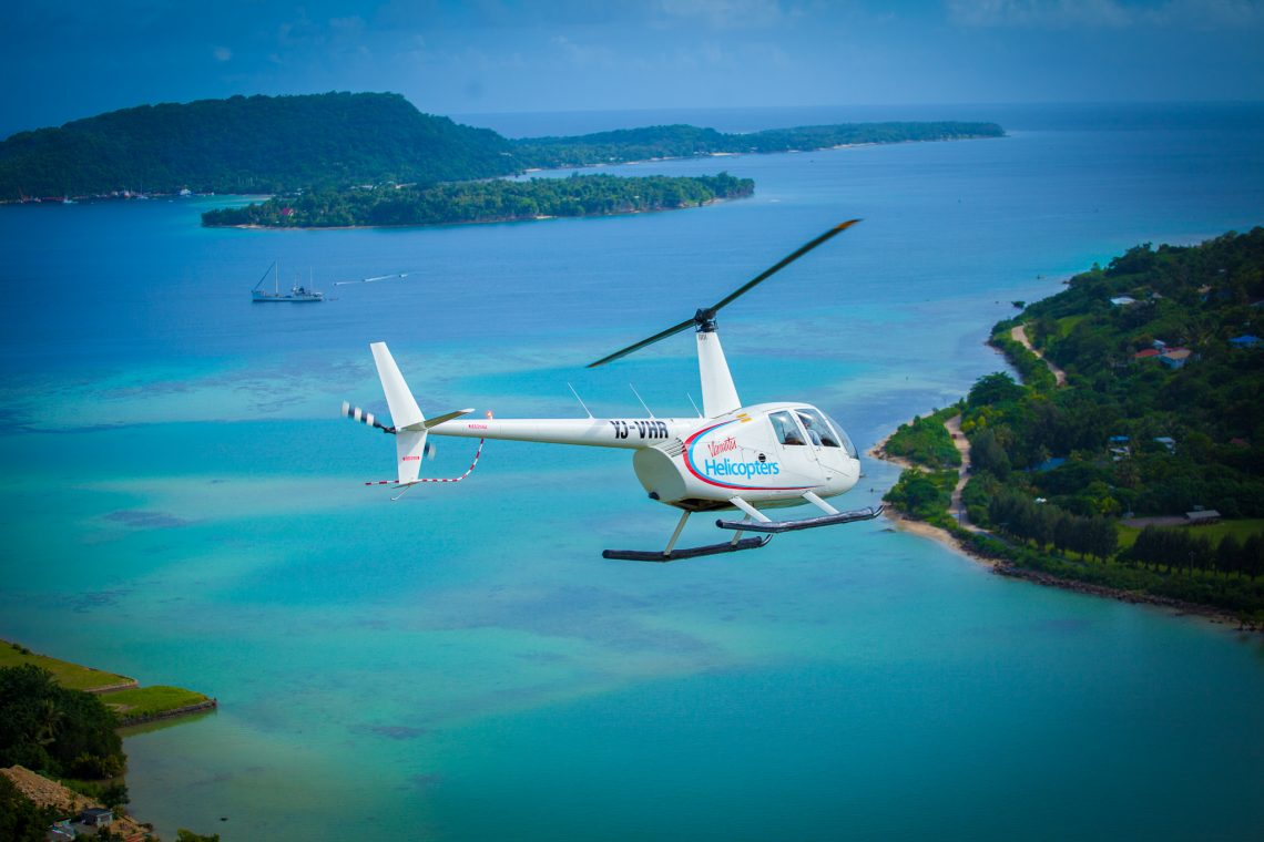 Vanuatu Helicopters Introduces New Flight Tours