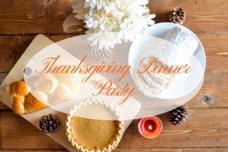 A Cozy, Stress-Free Thanksgiving Dinner Party for Your Friends